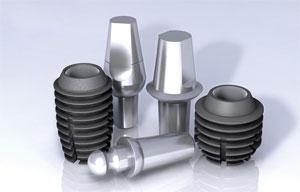 Фото: Модели имплантатов Bicon