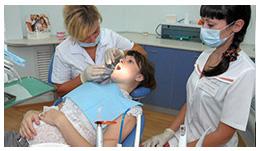 Фото: Стоматолог лечит зубы