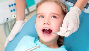 Фото: Лечение молочных зубов