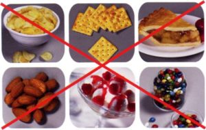 Фото: Ограничения в еде