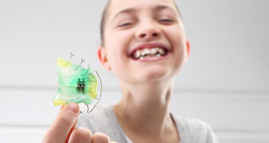 Ортодонтические пластинки для детей