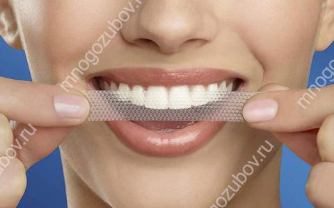 Как пользоваться отбеливающими полосками для зубов