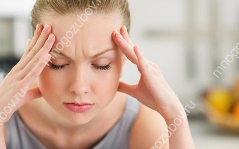 Как снять головную боль после удаления зуба
