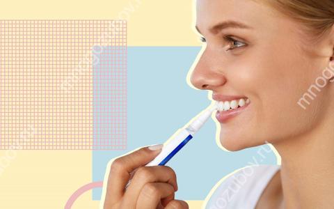 Карандаш для отбеливания зубов – что это