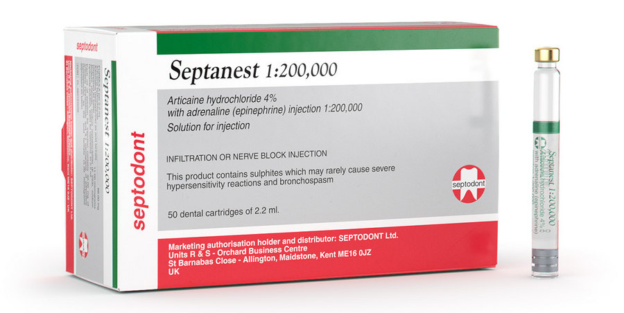 Септанест для обезболивания