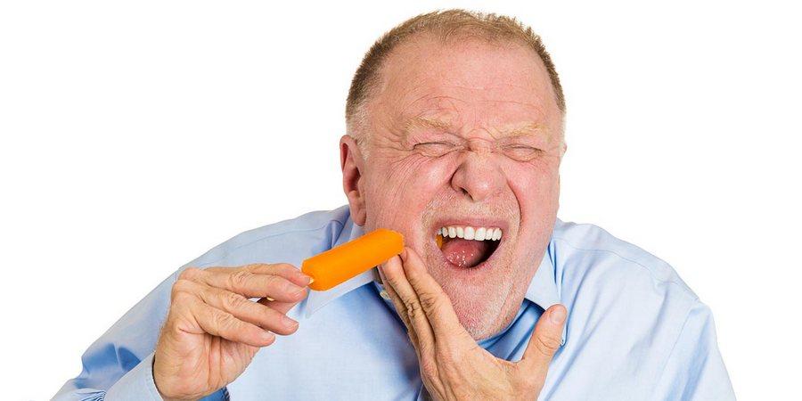 Проявления чувствительности зубов