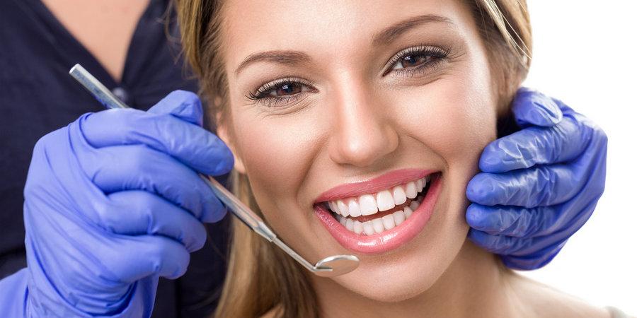 осветление зубов у гигиениста