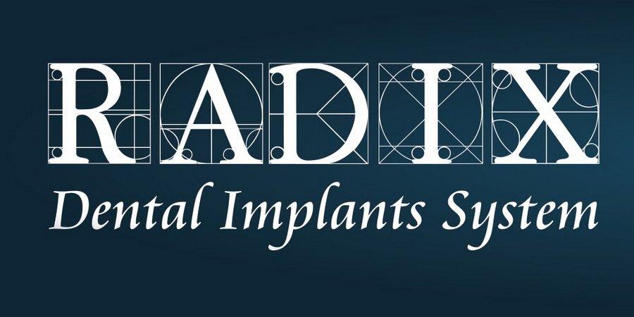 логотип имплантов radix