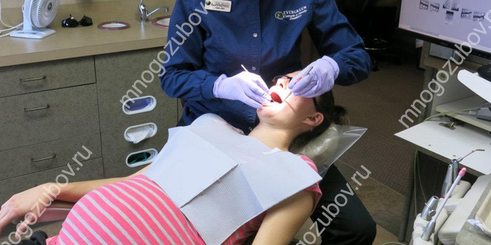 санация рта у беременных