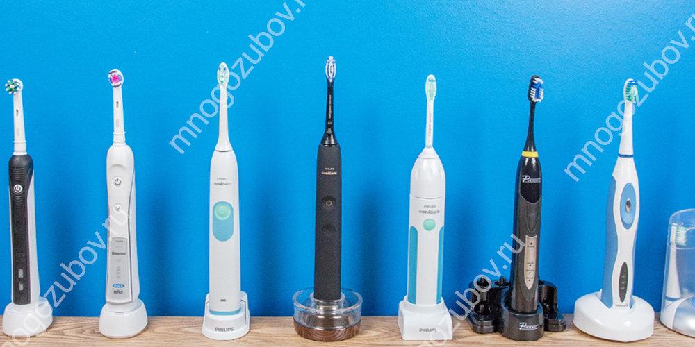 как выбрать электическую щетку для зубов