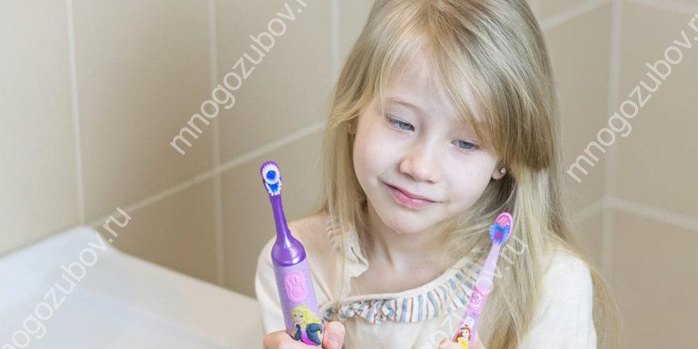 Жеткость зубной щетки для детей