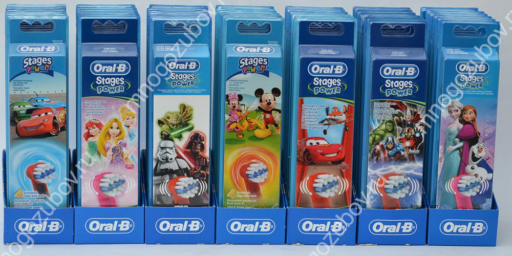 Oral-B Stages Power для детей