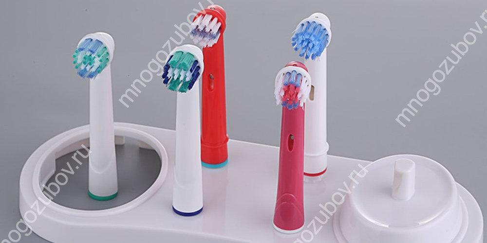 Разнообразие насадок на зубные щетки Орал Би