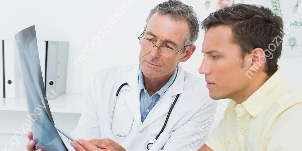 Обследование у врача при гиперсаливации