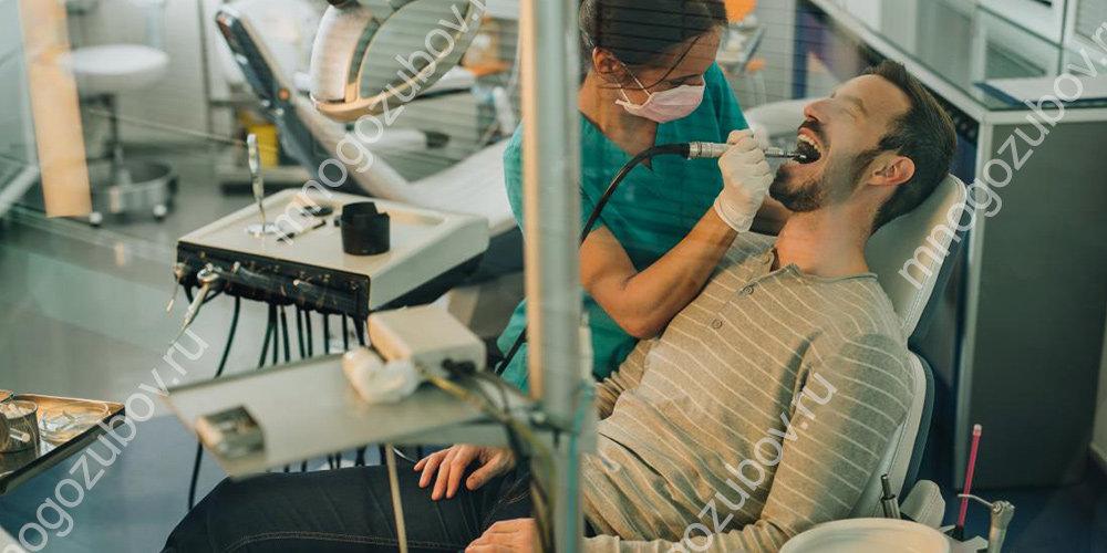 После проведения лечения зубов