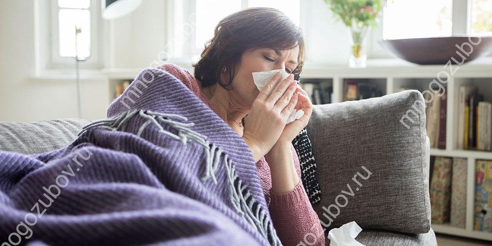 Лечение зубов при простуде