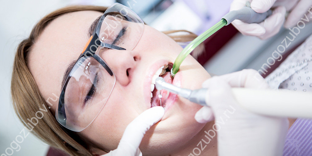 Неправильная пломбировка зубного канала