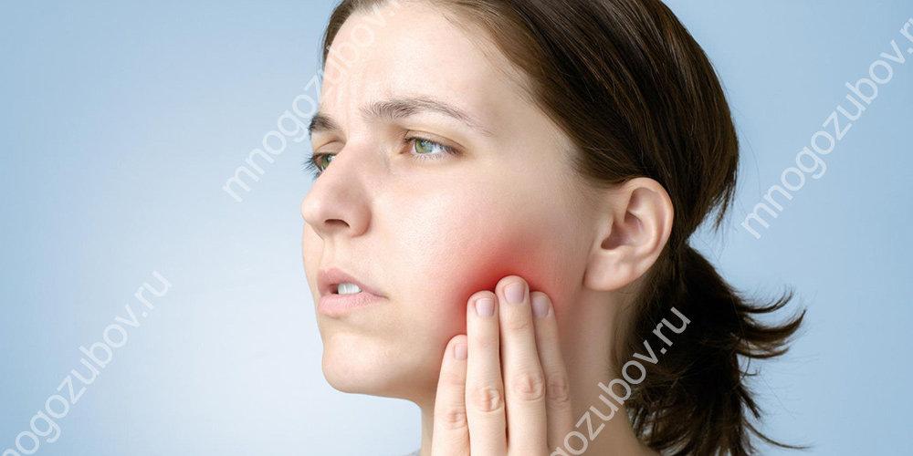 Причина боли во время прорезывания восьмерки