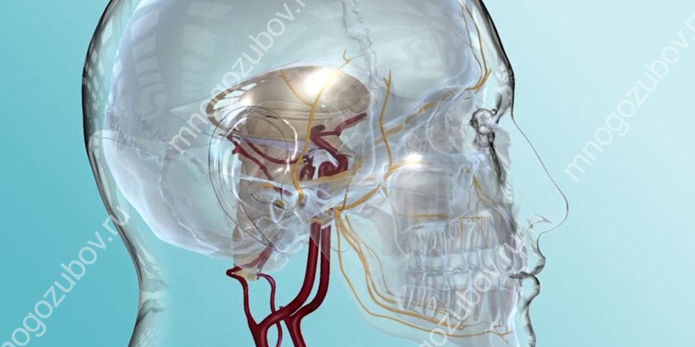 Травма тройничного нерва может привести к болям