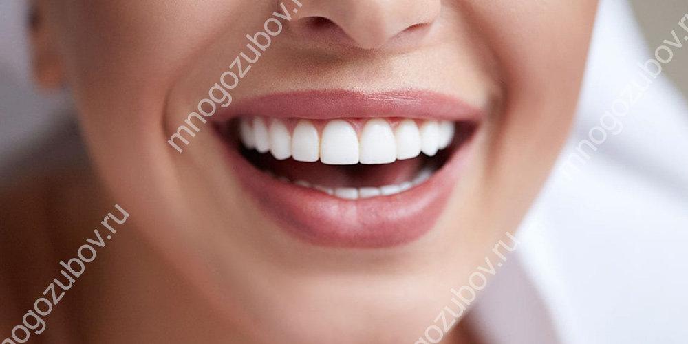 Отбеливание нарощенных зубов