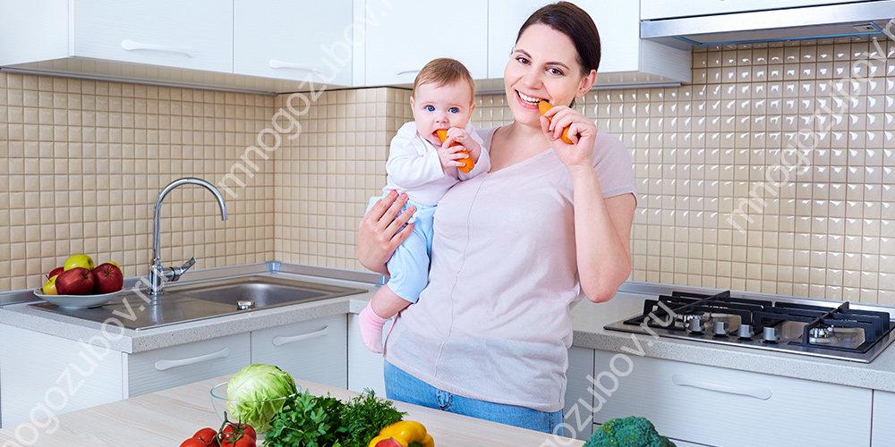 Питание мамы после рождения ребенка