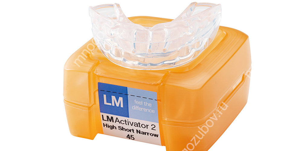 Фото: Активатор для зубов (LM-активатор)