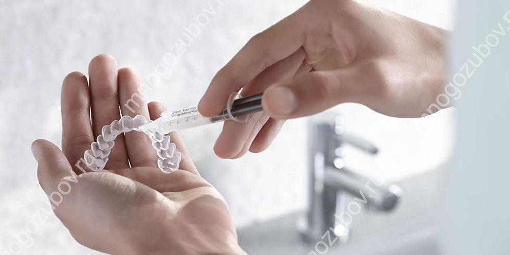 Безопасное отбеливание зубов дома