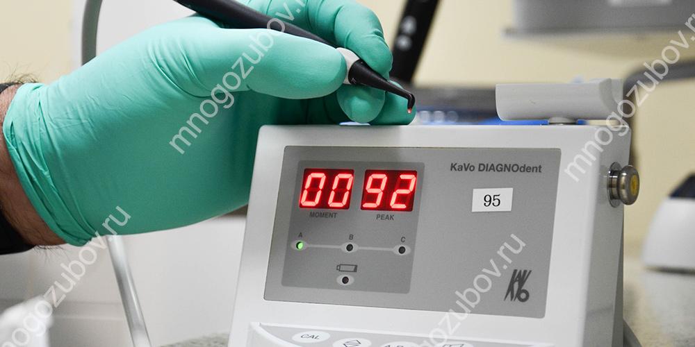 Аппарат для электроодонтодиагностики зуба