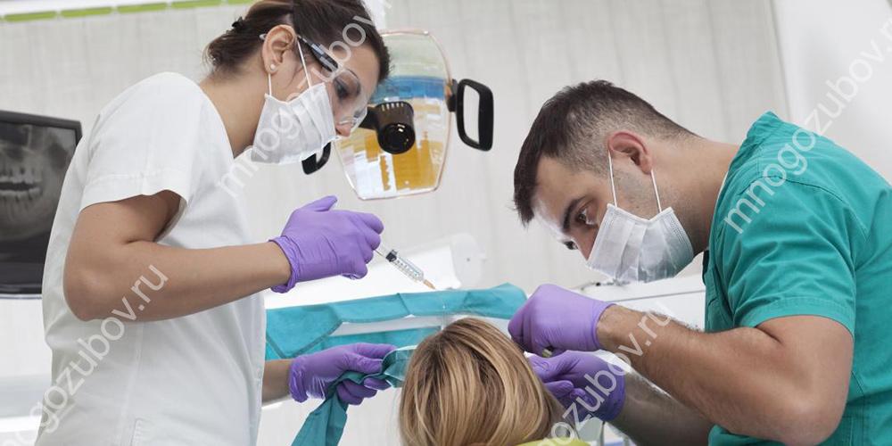 Проведение лечения в стоматологии