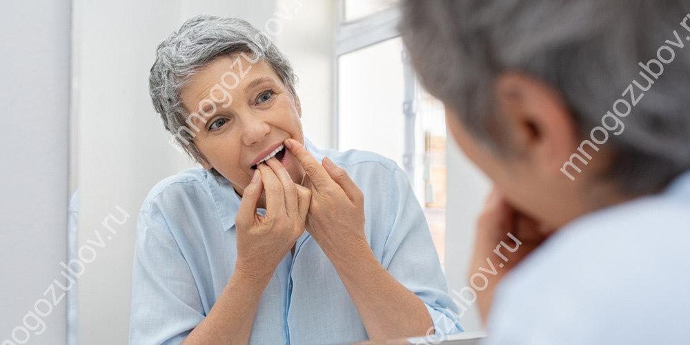 Что делать если застряла зубная нить