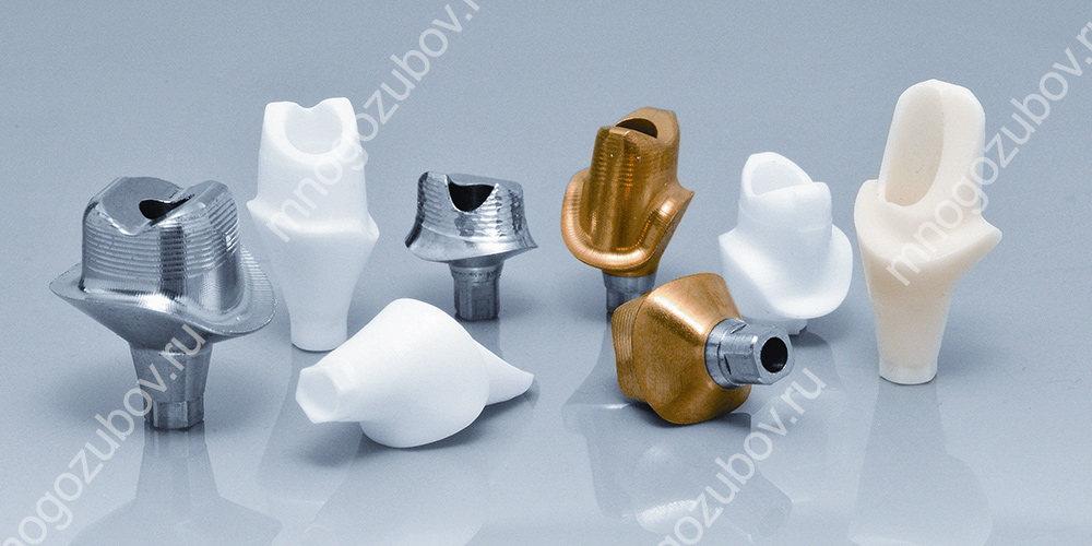 Маленькая, но важная деталь, соединяющая имплант с протезом – предназначение, разновидности абатментов